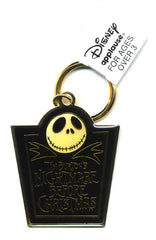 1993 Applause Nightmare Before Christmas Jack Metal Key Chain