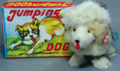Vintage OKA Japan Jumping Dog