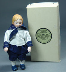 Vintage Fully Jointed Bisque Jimmy Doll