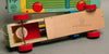 Vintage Japan Wooden Truck And Hammer Board