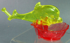 Vintage Knickerbocker Plastic Company Bubble Blowing Fish
