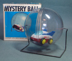 VIntage Tomy Japan Mystery Ball With Space Rocket