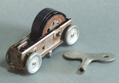 Vintage Japan Tin Wind Up Mechanical Car