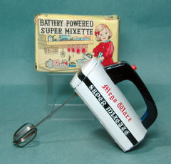 Vintage Mego Japan Tin Kitchen Mixer