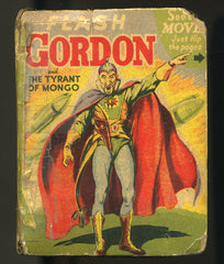 Flash Gordon Tyrant of Mongo Big Little Book