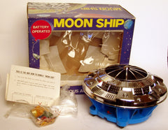 Battery Operated Toy Town Japan Moon Ship