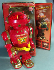 Red Magnatron Hong Kong Battery Operated Robot