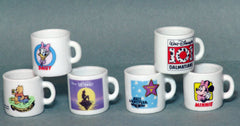 1990's Japan Market Disney Mug Cups