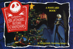 1993 Nightmare Before Christmas Post Card Book