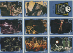 Complete 1993 Nightmare Before Christmas Card Set