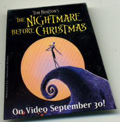 Nightmare Before Christmas Video Release Employee Pin