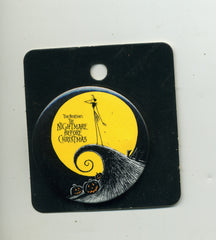 Nightmare Before Christmas Jack On Hill Button