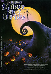 Nightmare Before Christmas Soft Cover Novel
