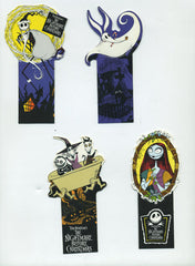 Set of 1993 Nightmare Before Christmas Bookmarks