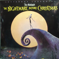 1993 Nightmare Before Christmas Laser Disk