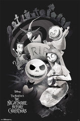 Nightmare Before Christmas RIP Poster