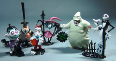 1993 Nightmare Before Christmas Applause Vinyl Figure Set