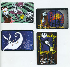 Set of 1993 Nightmare Before Christmas Collector Cards
