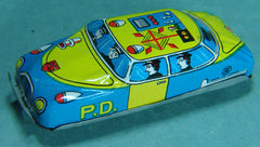 1950's Japan Tin Police Radio Car