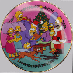 Franklin Mint Simpson's Limited Edition Plate