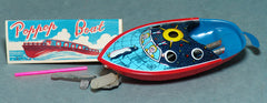 Japanese Tin Arctic Circle Pop Pop Boat