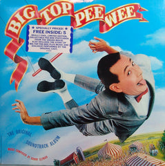 Big Top Pee Wee Soundtrack and Post Cards