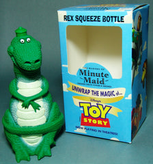 Rex From Toy Story Squeeze Bottle Premium