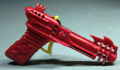 1950's Palmer Plastics Clicker Ray Gun Red/Black