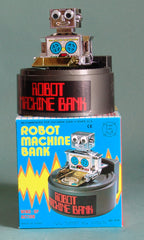 Robot Machine Savings Bank