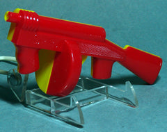 Red 1960's Tommy Gun Clicker Pistol