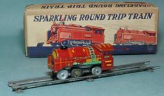 1952 Japan Wind Up Round Trip Train