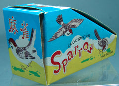 Vintage China Wind Up Sparrow - Box Only!