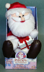 Rudolf The Red Nose Reindeer Santa Battery Operated Toy