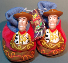 Toy Story Buzz and Woody Child Size Slippers
