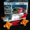 Japan Battery Operated Space Rescue Tank MIB