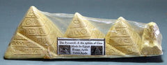Egyptian Sand Molded Pyramids and Spinx Of Giza