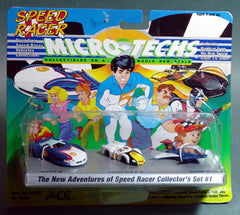 Speed Racer Micro Machines Collectors Set Number 1
