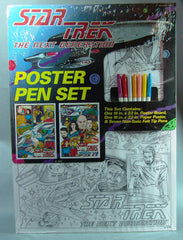 Star Trek Next Generation Poster Pen Set