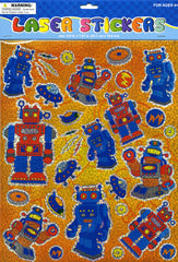 Robot Laser Stickers