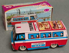 Vintage China Friction Touring Car Tourist Coach