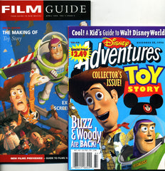 Toy Story Film Guide and Disneys Adventures Magazines