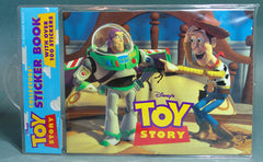 1995 Hasbro Toy Story Sticker Book