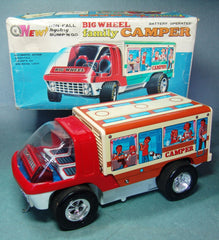 Japan Battery Operated Taiyo Family Camper
