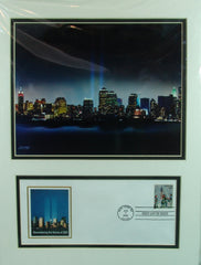 World Trade Center Matted First Day Cover