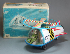 Vintage ATC Japan Tin Space Ship XZ-7
