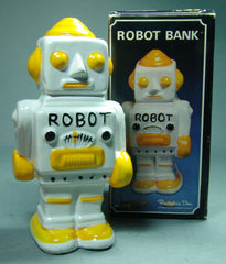 Vintage Taiwan Robot Savings Banks!