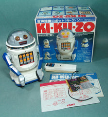 Vintage Japan Battery Operated Ki-Ku-Zo Robot