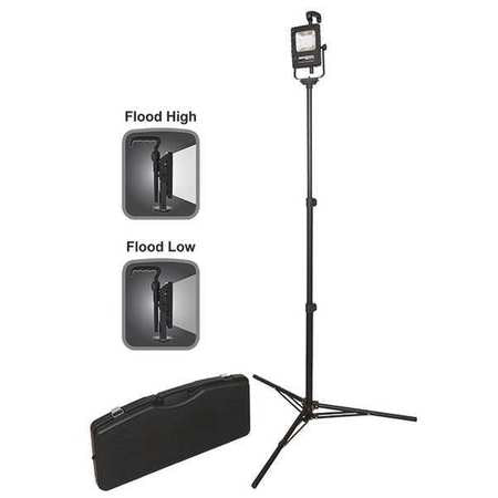 LED AREA LIGHT KIT WITH STAND AND CASE NSR-1514C