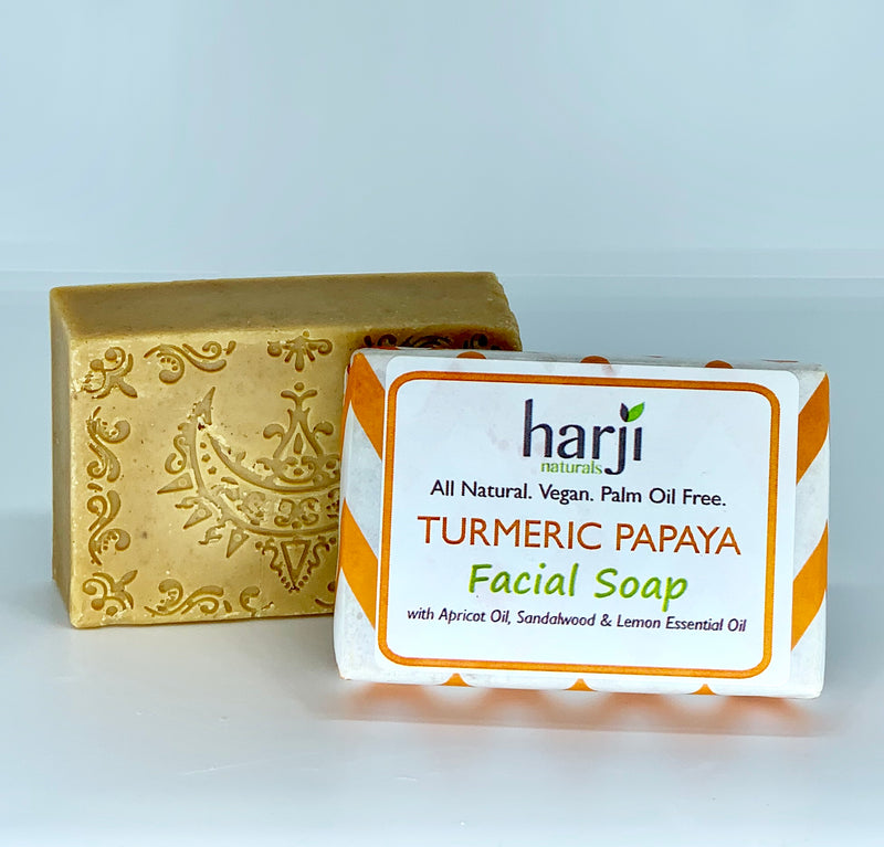 Facial Soap - Turmeric Papaya