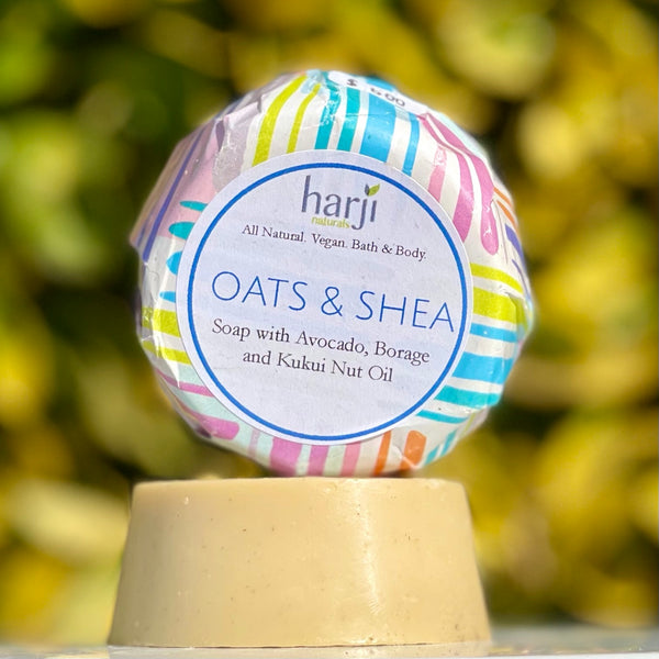Round Soap - Oats and Shea
